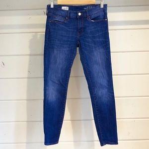 GAP 1969 Legging Jean Bright Blue Size 28s (ankle)